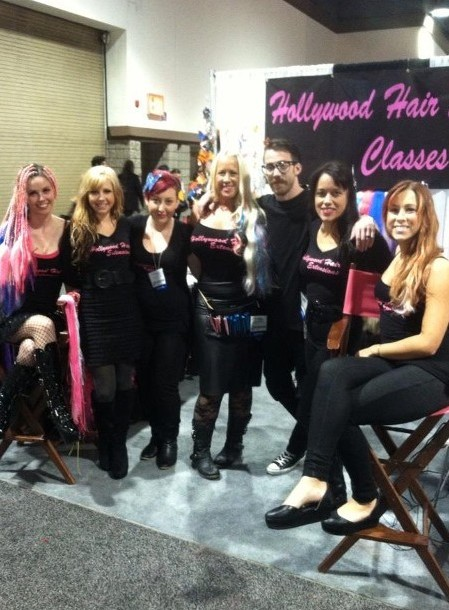 Hollywood Hair Extensions Classes